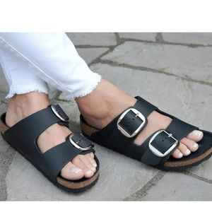 Birkenstocks - Big Buckle Sz 38